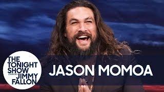 Jason Momoa Talks Aquaman and Hurting Jimmy During Water War