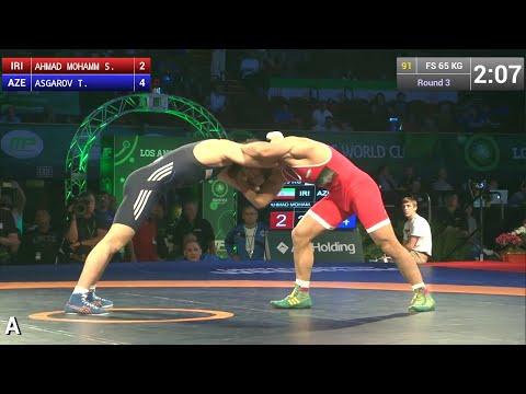 65KG, Toghrul Asgarov, AZE vs Seyed Mohammadi, Iran