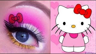 Hello Kitty Makeup Tutorial - YouTube