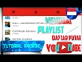 Cara Membuat PlayList / Daftar Putar di Channel Youtube | Tutorial Android #83