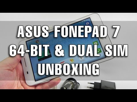 ASUS FonePad 7 (FE375CG) Unboxing (Intel 64-bit, Dual SIM Model) - Tablet-News.com