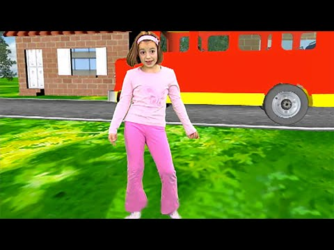 Zouzounia feat. Anna Rose & Amanda - The Wheels On The Bus
