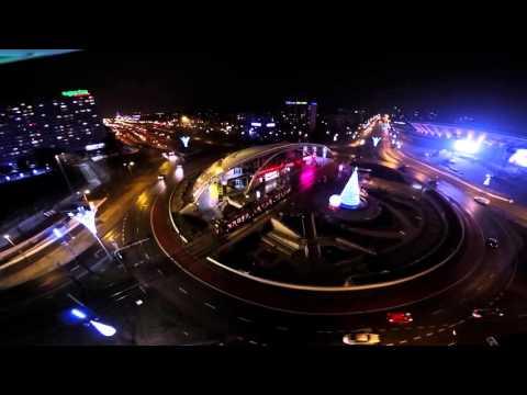 Katowice nocą
