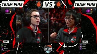 All Star LA 2015: Bjergsen Vel'Koz VS Doublelift Vel'Koz (1vs1 Game 3)
