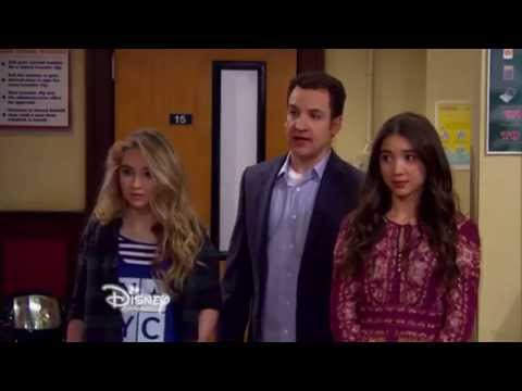lucas in a fight.         Girl meets the secret of life