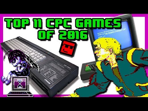 Top 11: Amstrad CPC Games of 2016