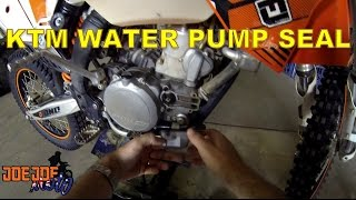 3. How To Replace The Water Pump Seal on KTM