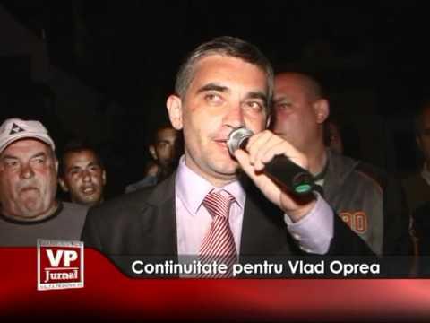 Continuitate pentru Vlad Oprea