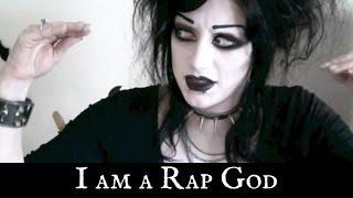 Goth Girl Raps Eminem's Rap God | Black Friday
