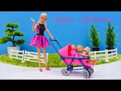 Barbie ailesi bebek için eşya alıyor!