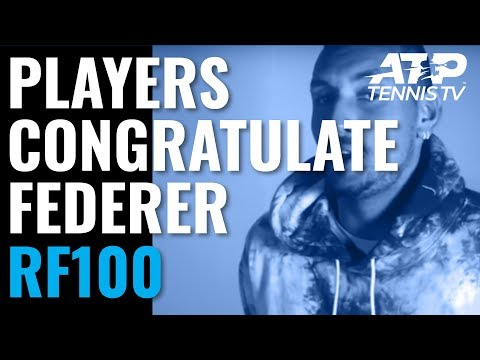 Federer Congratulated by Fellow ATP Players After 100th Title! - Thời lượng: 3 phút, 21 giây.