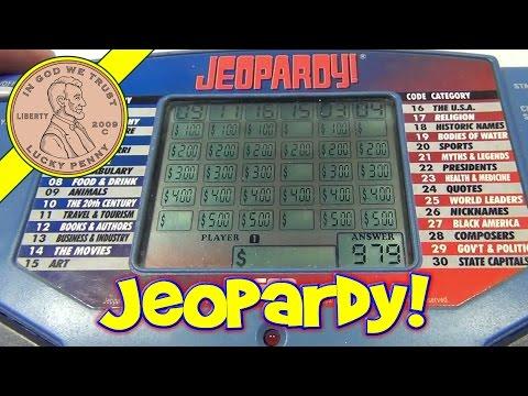 Jeopardy Handheld Electronics, 1995 Tiger Electronics