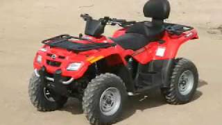 8. ATV Television Test - 2007 BRP Outlander Max 400