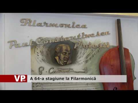 A 64-a stagiune la Filarmonică