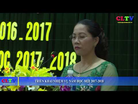 Triển khai nhiệm vụ năm học mới 2017-2018