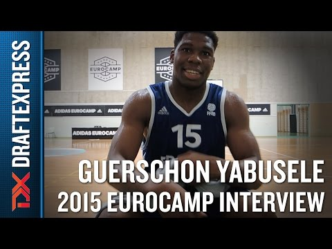 Guerschon Yabusele Interview at the 2015 adidas EuroCamp
