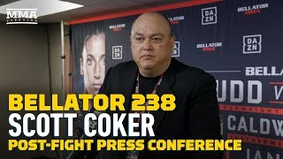Bellator 238: Scott Coker Says Cris Cyborg's Longevity A Product of Work Ethic   - MMA Fighting by MMA Fighting