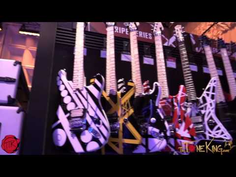 Charvel, Jackson, EVH Guitars NAMM 2015 '15