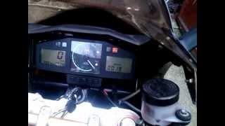 4. Aprilia Sl 1000 Falco Akrapovic sound