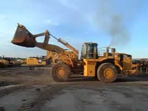 CATERPILLAR WHEEL LOADERS/INTEGRATED TOOLCARRIERS 988G equipment video f9_rCOpX2tQ