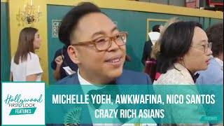 Video CRAZY RICH ASIANS LA Premiere, EXTENDED version:  MICHELLE YOEH, AWKWAFINA, NICO SANTOS & MORE MP3, 3GP, MP4, WEBM, AVI, FLV Oktober 2018
