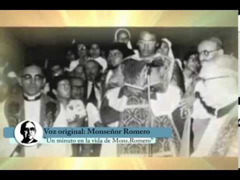 Un Minuto en la Vida de Monseñor Romero 13 mayo