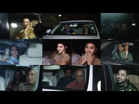 Rekha, Sidhath Malhotra, Alia Bhatt & Others For Screening Of Film Phillauri