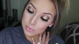 Bronzey Smokey Eye Tutorial: My Wedding Makeup! - YouTube
