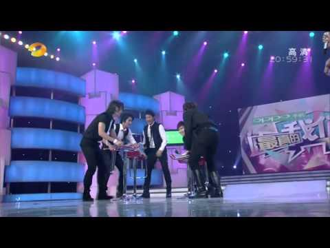 091017【全場中文】湖南衛視 快樂大本營 – 來賓 Super Junior M