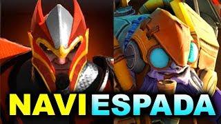 Download Lagu NAVI vs ESPADA - WHAT A MATCH! - TI8 CIS OPEN QUALS DOTA 2 Mp3