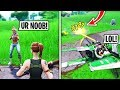 I Met A Toxic 12 Year Old in Fortnite Playground Fills, Then DESTROYED Him (He Cried)
