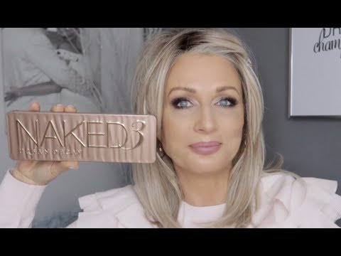 Urban Decay Naked 3 Look | Mature Hooded Eyes (видео)