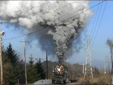 Amazing Steam SP&S 700 Holiday Express Train