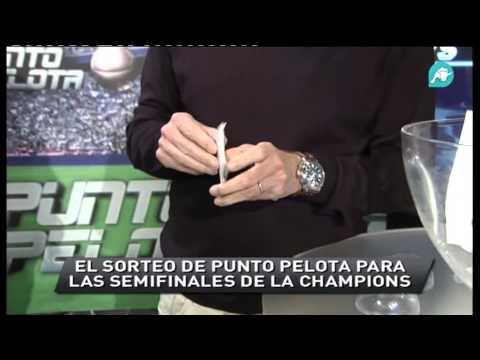 Punto Pelota ensaya para el sorteo de Champions League de Semifinales