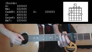 Video Calum Scott - You Are The Reason EASY Guitar Tutorial MP3, 3GP, MP4, WEBM, AVI, FLV Mei 2018