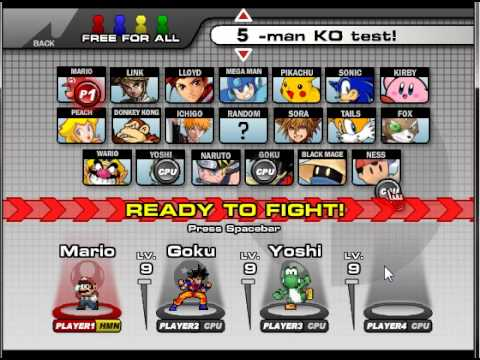 Super Smash Flash 2 Demo v0.8b