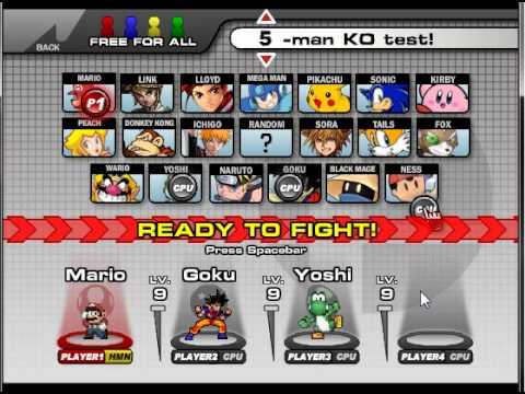 Super Smash Flash 2 Demo v0.8b