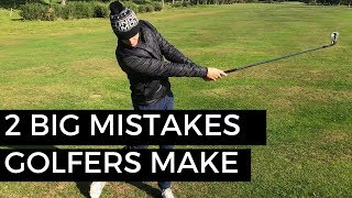 Video TWO BIG MISTAKES GOLFERS MAKE WITH THEIR IRONS MP3, 3GP, MP4, WEBM, AVI, FLV Oktober 2018