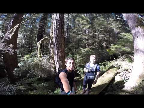 It's a short video about hiking several places in Washington state shot with a GoPro.