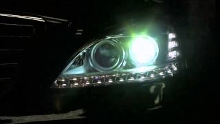 "Kit ""Retrofit"" conversion de faros Bi-xenon LED MERCEDES Clase-S W221"