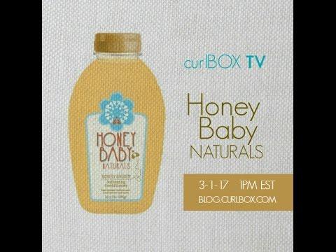 curlbox tv: honey baby naturals