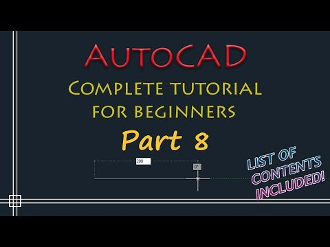 AutoCAD - Complete Tutorial For Beginners - Part 8 (blocks, Xrefs, Pdf Import)