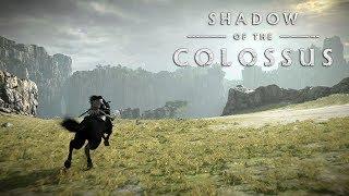 SHADOW OF THE COLOSSUS PS4 - O Início de Gameplay no Modo Hard, em Português PT-BR! (PS4 Pro 60fps)