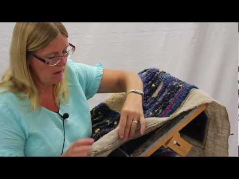 RUG - Rug Hooking artist Susie Stephenson talks about her sources of inspiration in over 20 years of making rugs, and her recent interest in hooking rugs with yarn...