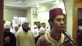 Taraweeh 2011 2nd night + Dua'a @ USA Qari Youssef Edghouch