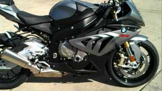 4. (HD) 2013 BMW S1000RR Granit Grey Metallic Matt--*walkaround*