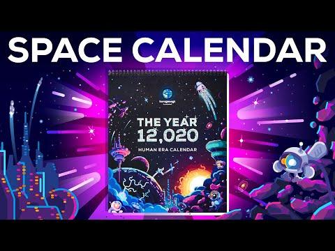 The 12,020 Human Space Era Calendar
