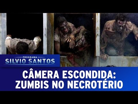candid camera divertente - scherzo zombi all'obitorio