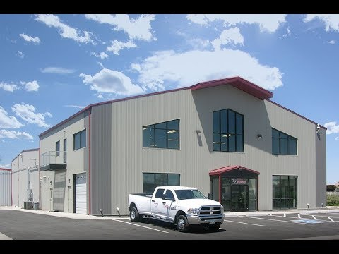 Global Machinery Commercial Steel Building Project