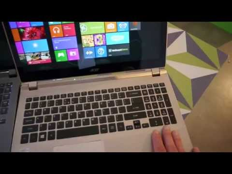 Acer Aspire V7 Notebooks Hands On